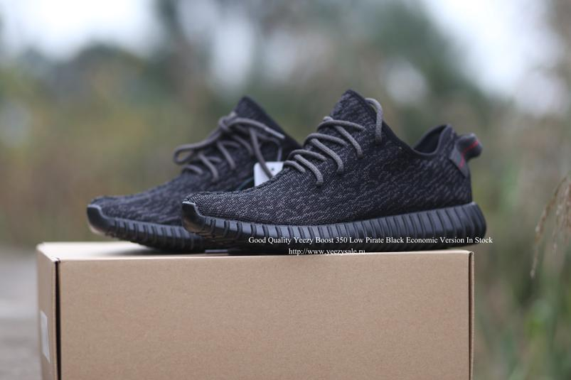 Yeezy Boost 350 Low Pirate Black Economic Version In Stock AYCL001259
