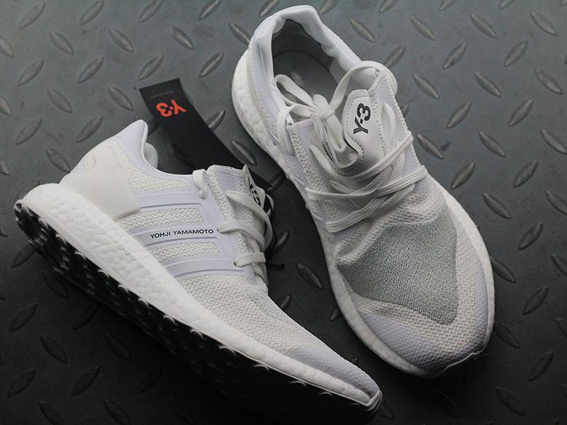 Y-3 Y3 Pure Boost ZG Knit Triple White NMD BY8955