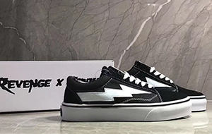 Revenge X Storm Vans Old Skool Black White For Sale