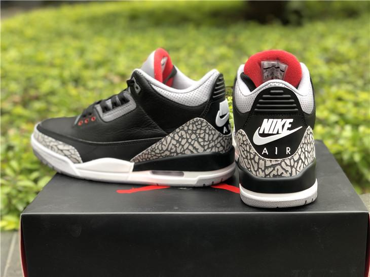 Air Jordan 3 Og Black Cement 2018 Version For Sale