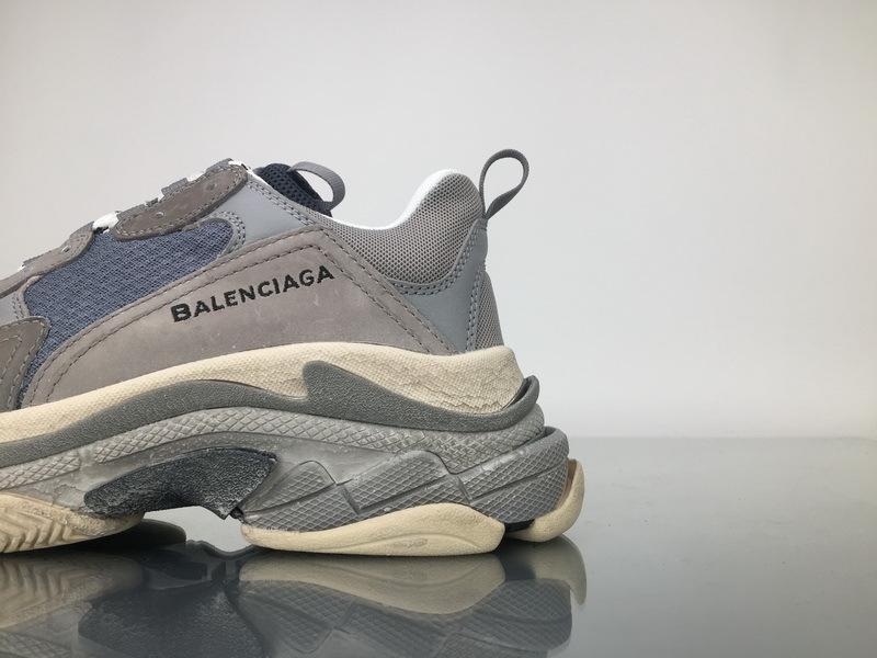 Balenciaga Triple S Trainer 483513W06E11259 All Grey For Sale