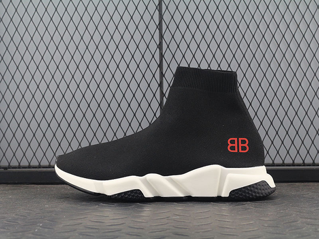 Balenciaga Speed stretch-knit Mid sneakers W05G01 Sale