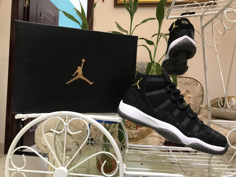 Air Jordan 11 Retro PRM HC GS HEIRESS Black 852625-030