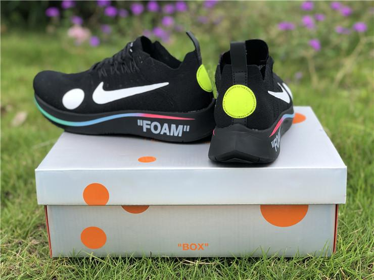OFF-WHITE x Zoom Fly Mercurial Flyknit Releasing for World Cup Black Sale