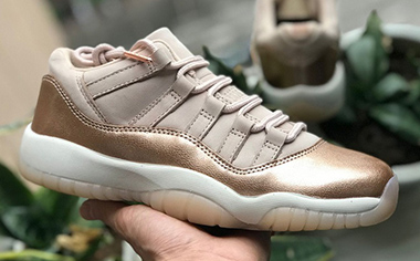 Air Jordan 11 Low GS Rose Gold AJ11 AH7860-105 Sale