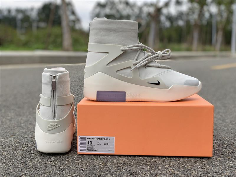 Air Fear of God 1 Light Bone Perfect Quality Version
