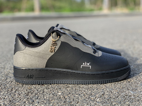 A Cold Wall x Air Force 1 Low Black Released For Sale
