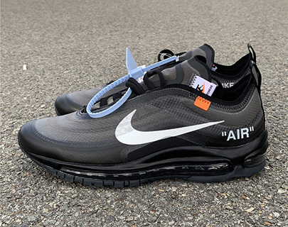 Off-White Air Max 97 Black Perfect Released