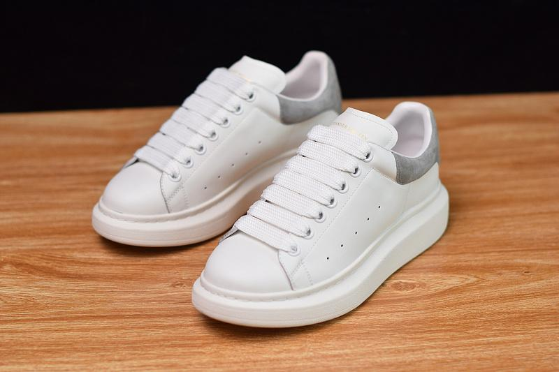 Fashion Shoe White Grey 008