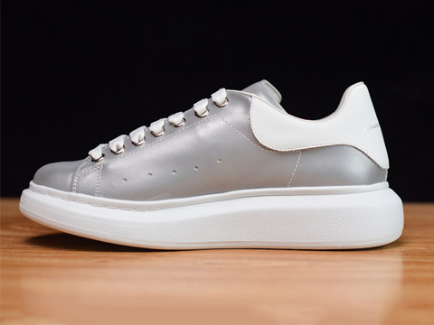 Fashion Shoe Grey 3M Reflective 009