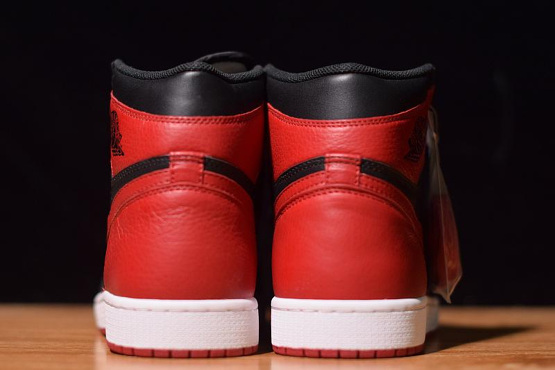 Air Jordan 1 Retro High OG Banned Bred Released