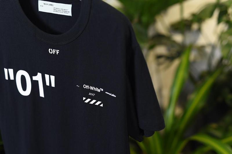 Off White 18SS Black For All 01 T-shirt Online Sale