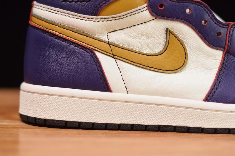 NK SB x Air Jordan 1 Retro High OG Lakers LA to Chicago Online Sale