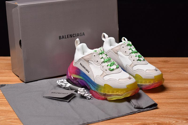 Balenciaga Triple S Multicolor Sole Trainers Perfect Version