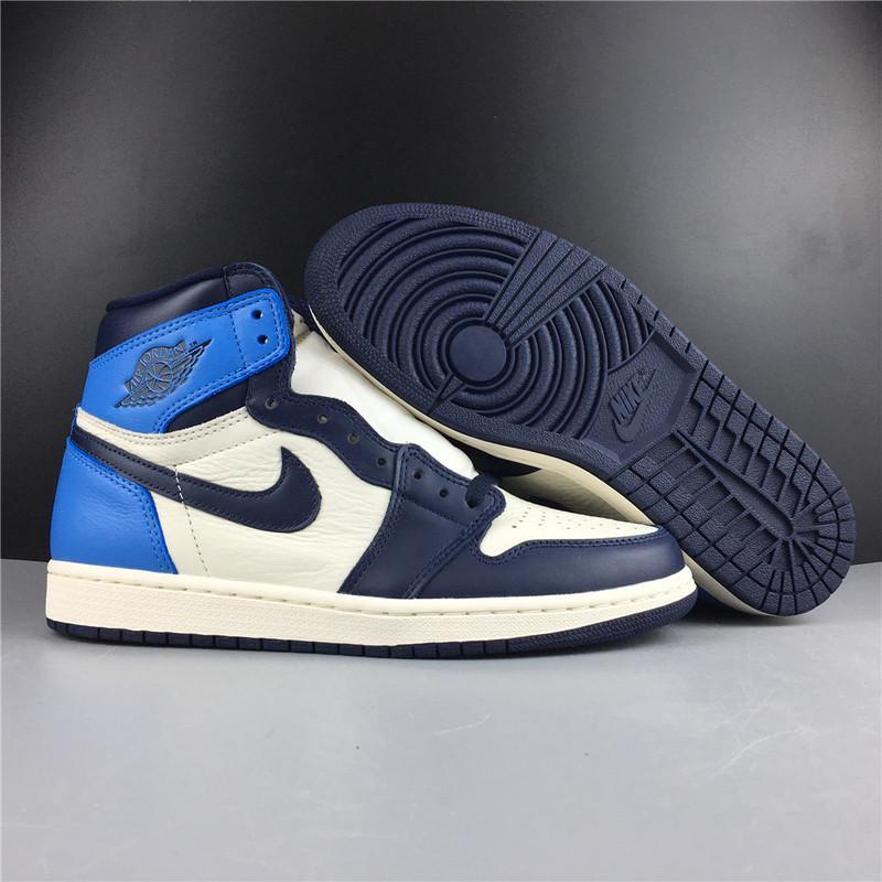 Air Jordan 1 High OG Obsidian University Blue Online Sale