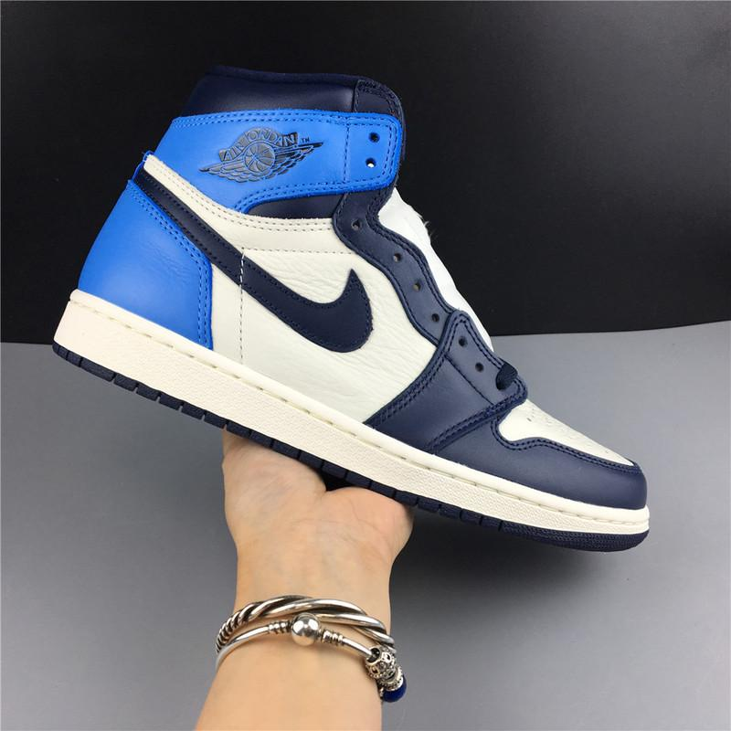 Air Jordan 1 High OG Obsidian University Blue Online Sale