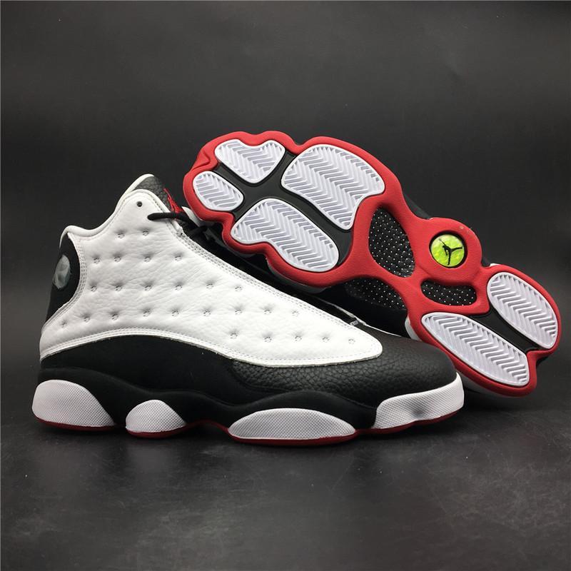 Air Jordan 13 He Got Game White Black Online Sale