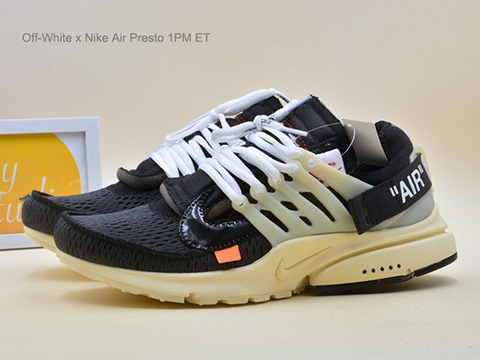 Off-White x Air Presto 1PM ET Black AA3830-001 For Sale