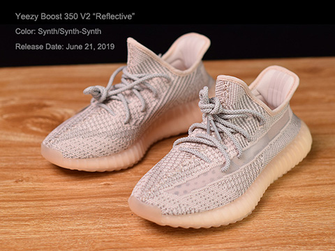 Yeezy Boost 350 V2 Synth Reflective High Quality Version
