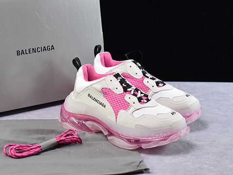 Balenciaga Triple S Trainers Pink Released