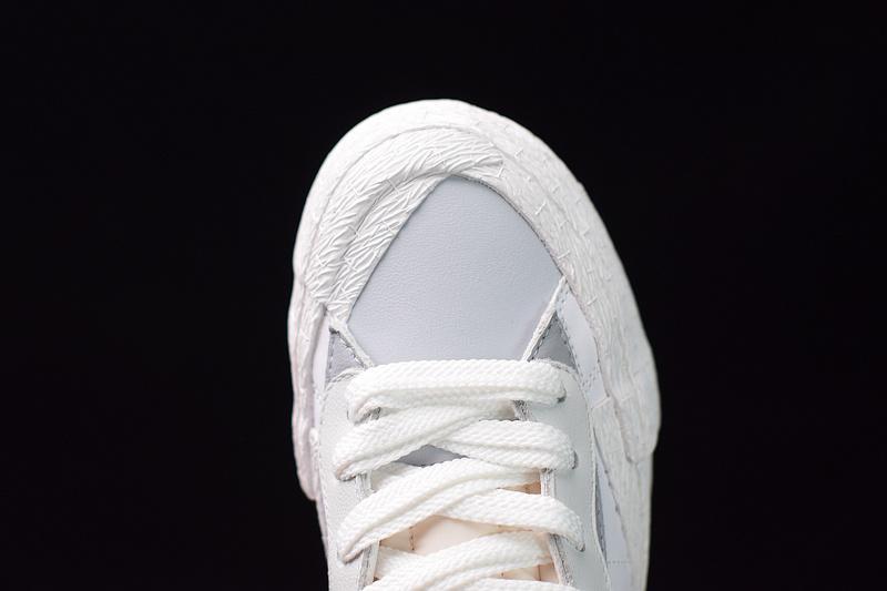 NK x sacai Blazer BV0072-100 White Grey