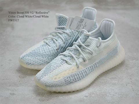 Yeezy Boost 350 V2 Cloud White Reflective High Quality Released