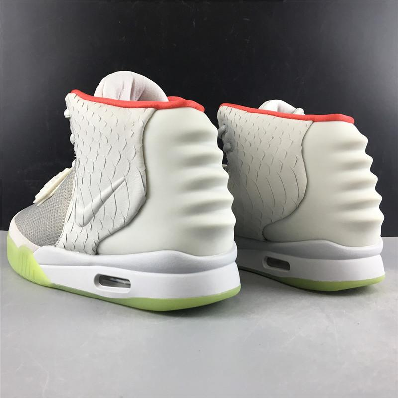 Air Yeezy 2 NRG Wolf Grey Pure Platinum 508214-010 For Sale