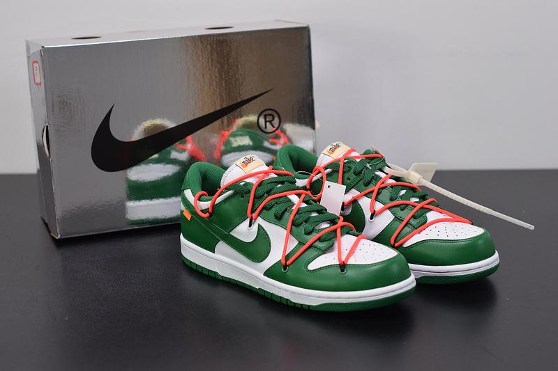 Off-White x Dunk Low CT0856-100 Green