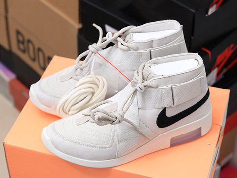 Air Fear Of God 1 Raid 180 FOG AT8087-001 Grey Sale