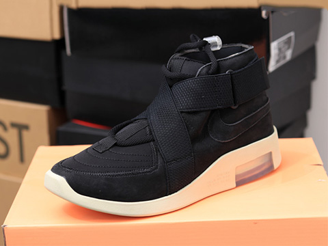 Air Fear Of God 1 Raid 180 FOG AT8087-002 Black Sale