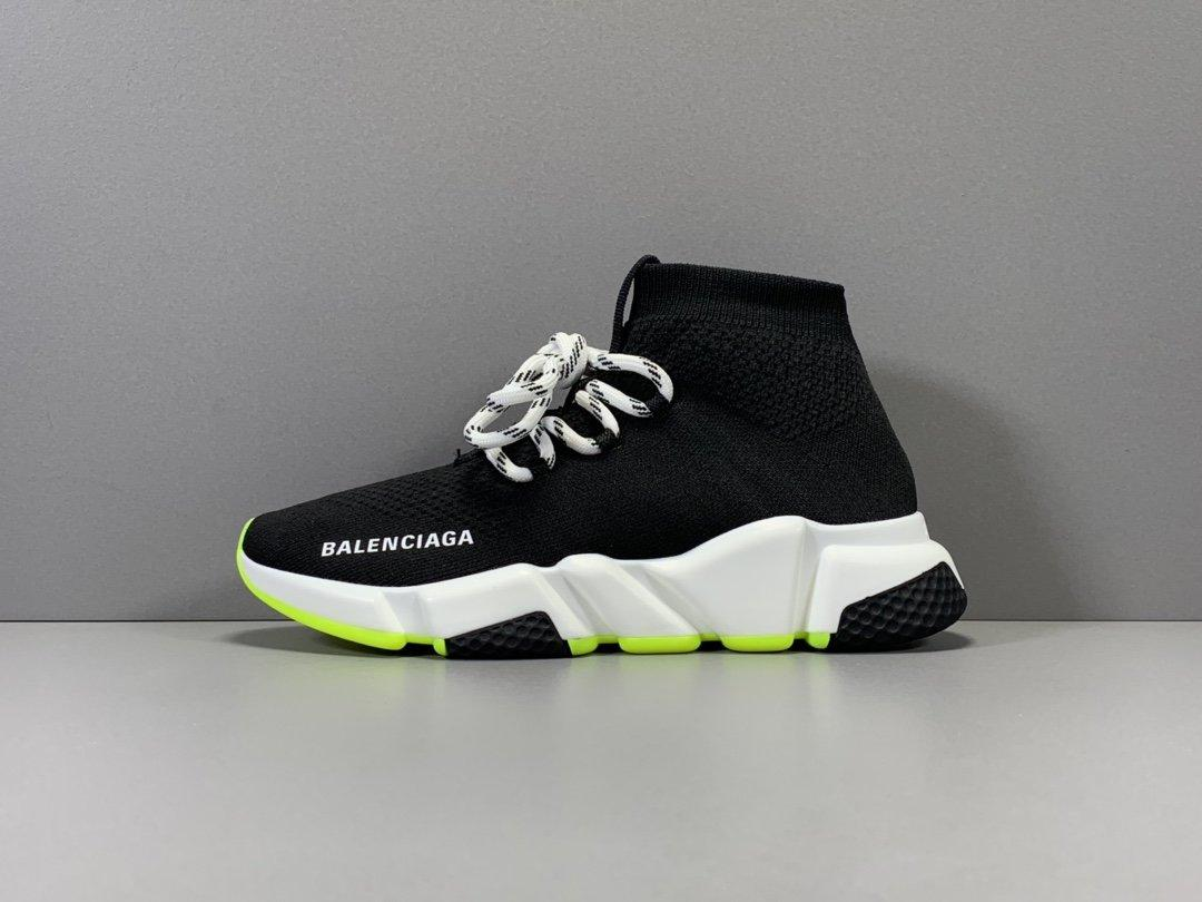 Balenciaga Speed Run stretch-knit Mid sneakers Released