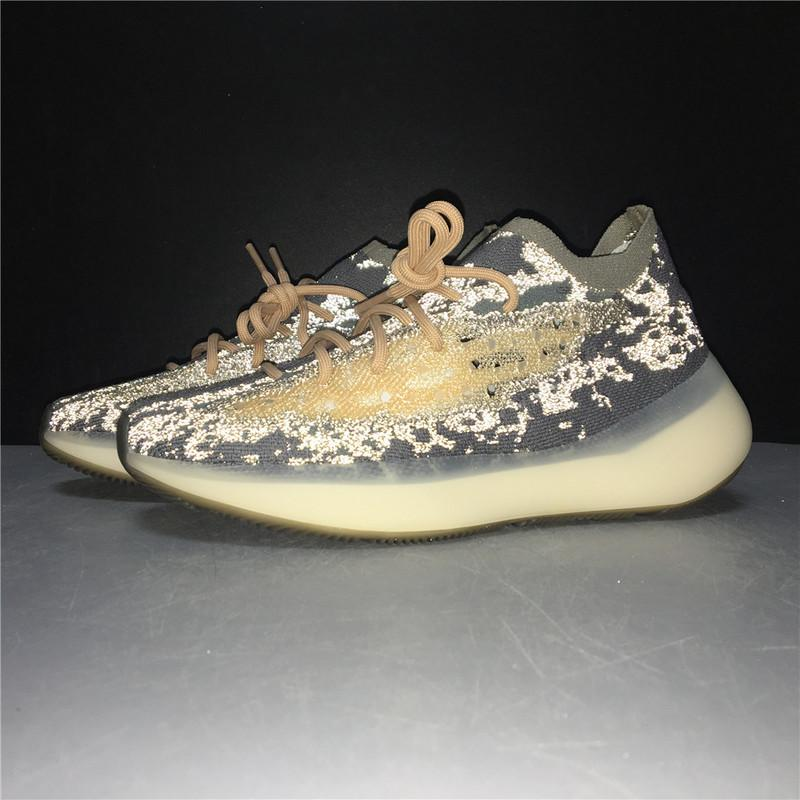 Yeezy Boost 380 Mist Reflective FX9846 High Quality Version Sale