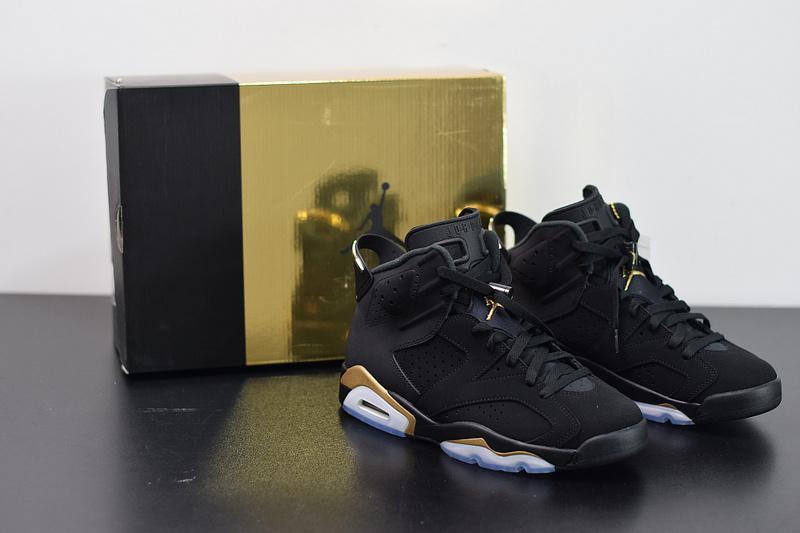 Air Jordan 6 DMP Defining Moments Black Metallic Gold CT4954-007