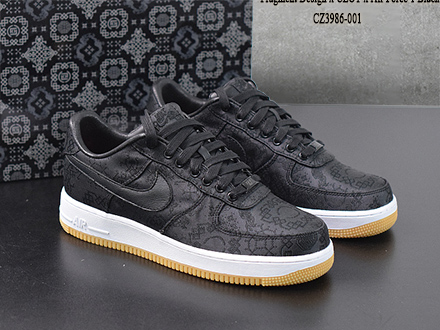 Fragment Clot x Air Force 1 PRM Black CZ3986-001 Sale