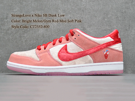 StrangeLove x Dunk Low SB Valentine's Day CT2552-800