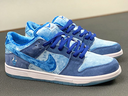 StrangeLove x SB Dunk Low Blue CT2552-400