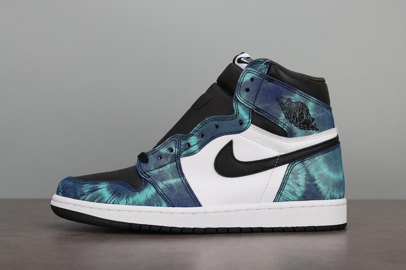 Air Jordan 1 Retro Wmns High OG Tie-Dye CD0461-100 Released