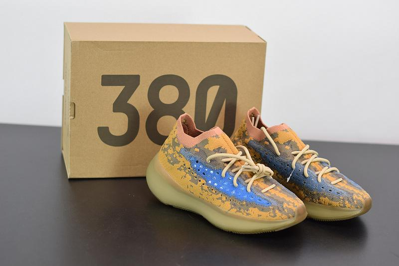 Yeezy Boost 380 Blue Oat Reflective FX9847 Released Sale