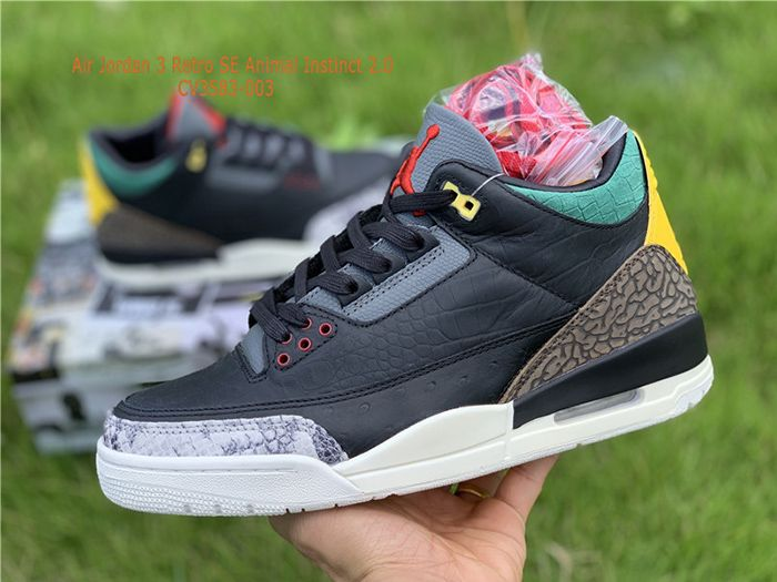 Air Jordan 3 Retro SE Animal Instinct 2.0 CV3583-003 Sale