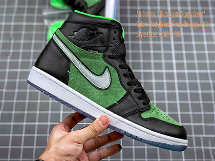 Air Jordan 1 High Zoom Zen Green CK6637-002 Sale
