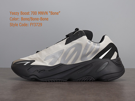 Yeezy Boost 700 MNVN Bone FY3729 Released Sale